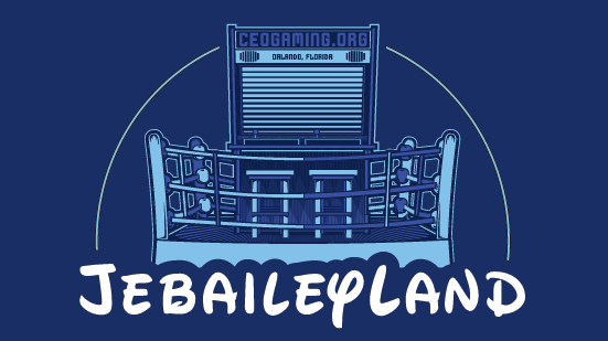 JebaileyLand arcade is bigger than ever at CEO 2016!