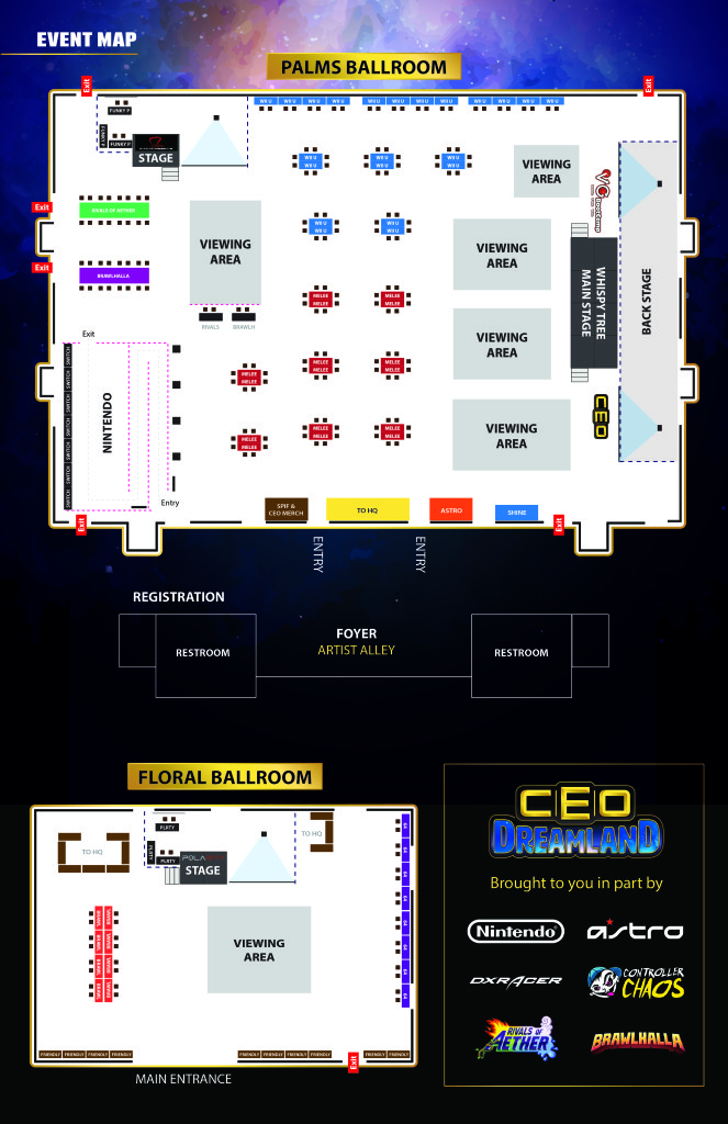 CEO Dreamland Map-Print