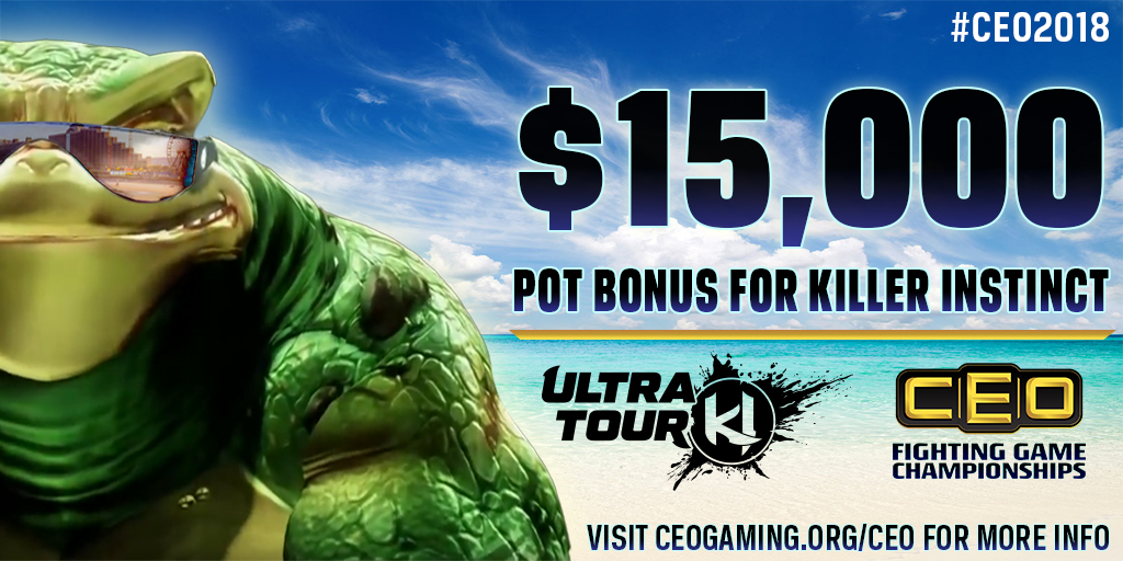 KI ULTRA TOUR RETURNS TO CEO 2018 WITH A $15,000 POT BONUS