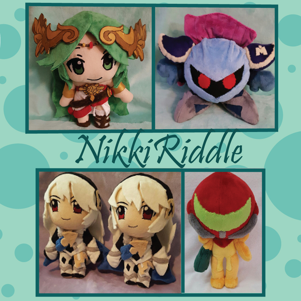 Nikki Riddle Plushies