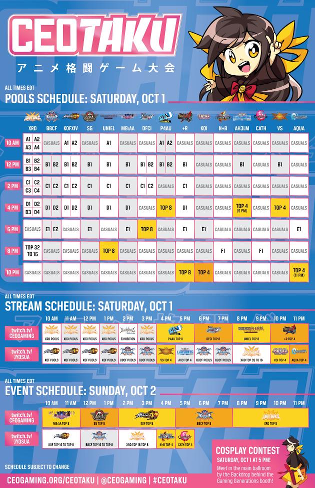 ceotakufinalschedule