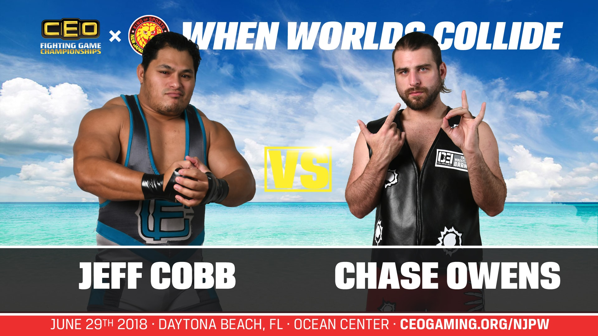 CEO x NJPW When Worlds Collide - Daytona Beach, FL