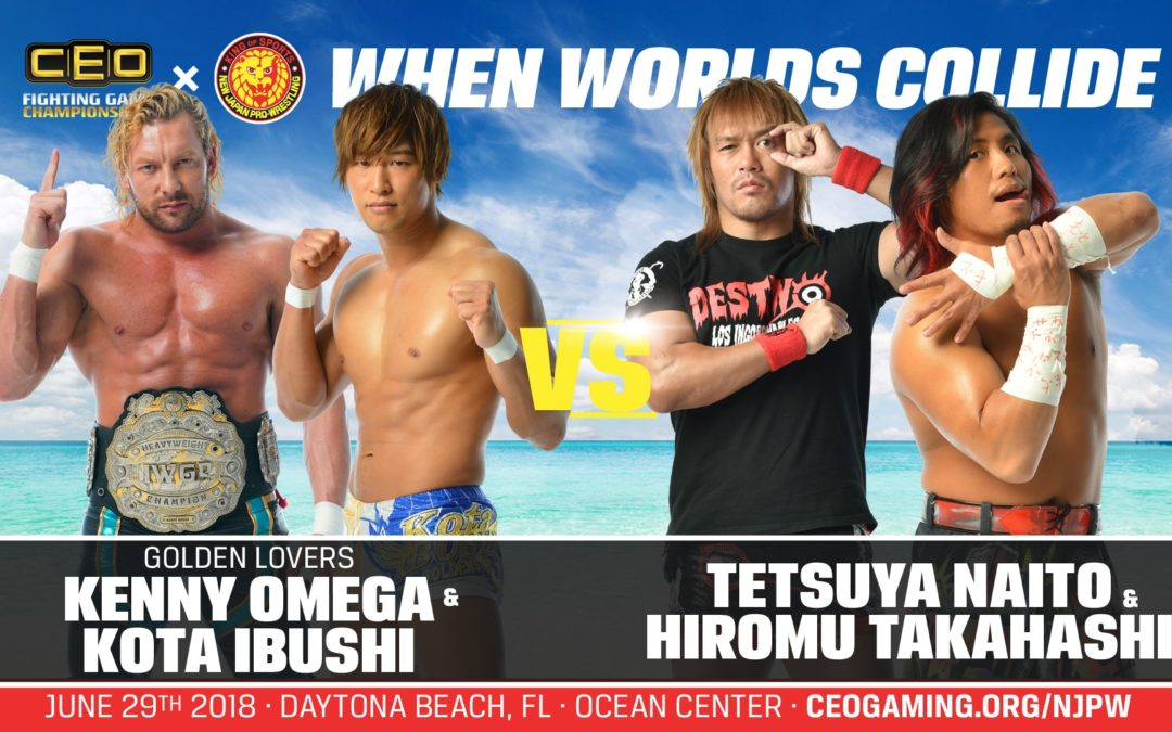 CEOxNJPW June 29th Match Card, Livestream and more!